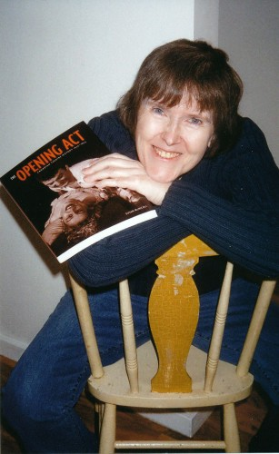 Photo of Susan on the day the book came out