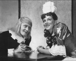 Jean Gascon and Denise Pelletier